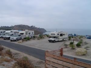 アメリカ レンタルキャンピングカー(モーターホーム)の旅 カリフォルニア ステートパークのRVパーク体験記