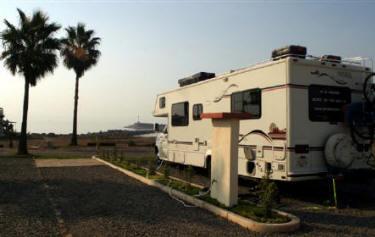 アメリカ レンタルキャンピングカー(モーターホーム)の旅 メキシコ バハカリフォルニア Hussong's RV Resort