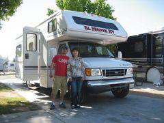アメリカ レンタルキャンピングカー(モーターホーム)の旅 体験記6