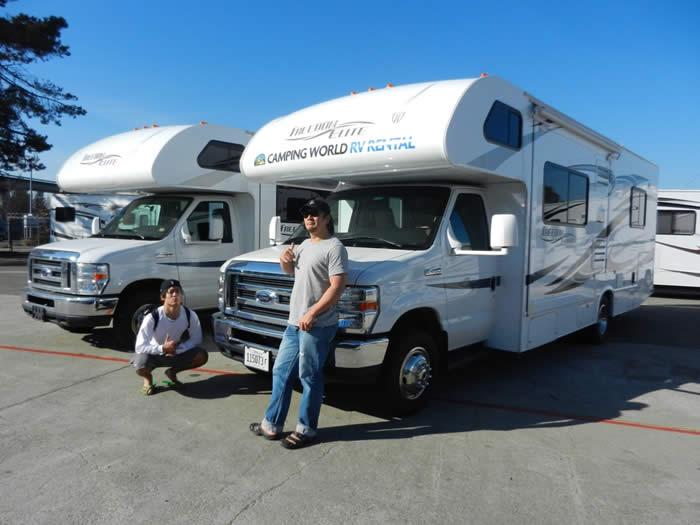 アメリカ レンタルキャンピングカー(モーターホーム)の旅 体験記26