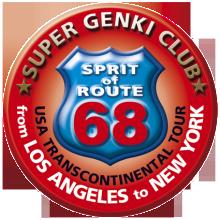 アメリカ レンタルキャンピングカー(モーターホーム)の旅 体験記14 SUPER GENKI CLUB オリジナルロゴ