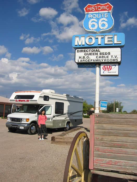 アメリカ レンタルキャンピングカー(モーターホーム)の旅 体験記7