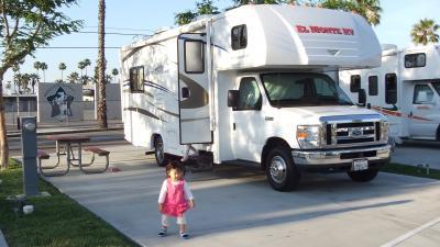アメリカ レンタルキャンピングカー(モーターホーム)の旅 体験記24