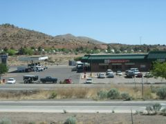 アメリカ レンタルキャンピングカー(モーターホーム)の旅 トラックターミナル