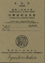アメリカ レンタルキャンピングカー(モーターホーム)の旅 国際免許証