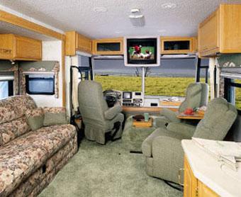 アメリカ レンタルキャンピングカー(モーターホーム)の旅 CS-32TV