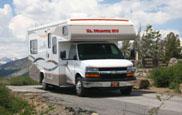 アメリカ レンタルキャンピングカー(モーターホーム)の旅 クラスC