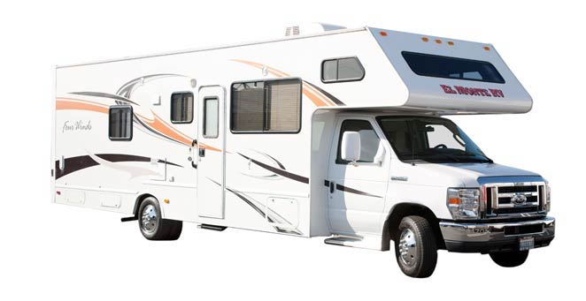 アメリカ レンタルキャンピングカー(モーターホーム)の旅 バイク等搭載可能タイプ