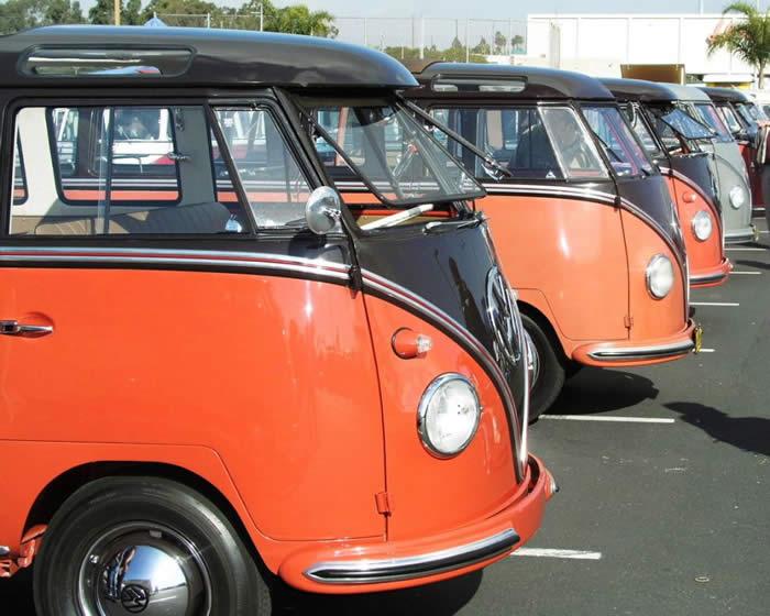 アメリカ レンタルキャンピングカー(モーターホーム)の旅 VW's Hot & Cool in California