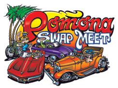 アメリカ レンタルキャンピングカー(モーターホーム)の旅 POMONA SWAP MEET