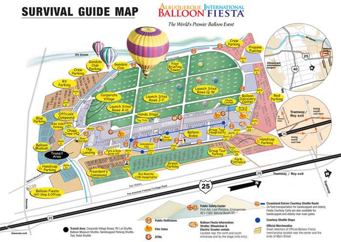 アメリカ レンタルキャンピングカー(モーターホーム)の旅 International Balloon Fiesta