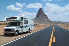 アメリカ レンタルキャンピングカー(モーターホーム)の旅 ドライブ