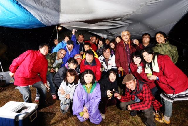 アメリカンスタイルのキャンプ場での貸し切りイベント